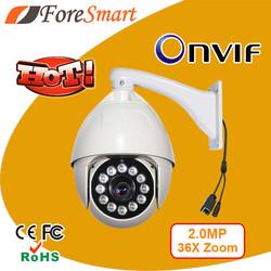 1080p hd high speed ip dome camera auto focus ip camera action camera hd 2MP PTZ IP camera