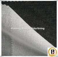 woven fusible interlining T/C buckram