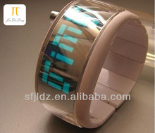 Fashion High quality silicone touch screen Paper watch 2013