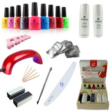 IBN custom-built nail decoration gel polish kit