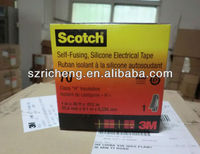 3m scotch 70# silicon rubber self adhesive tape, 25.4mm*9.1m*0.305mm, 24 rolls/carton