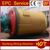Gold grinding machine ore dressing equipment high efficiency ball mill used in Tanzania