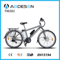 """Mountain ebike TM261 with 36V Samsung cell lithium battery, mountain bike 26"""" mag wheels"""