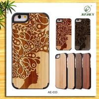 2015 Wholesale For Iphne 6 Natural Wooden Phone Cases