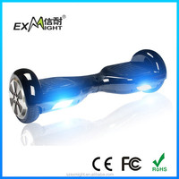 2015 hittest!2 wheels self balancing scooter / hover board with bluetooth music & colorful led light