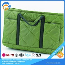 Wholesale Quilted Plain Tote Canvas Bags