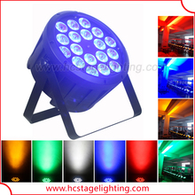 Cheap price 18X12w led par 5 in 1 rgbwa stage lighting