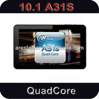 android 4.4 Allwinner a31s Quad core capacitive screen best 10 inch cheap tablet pc