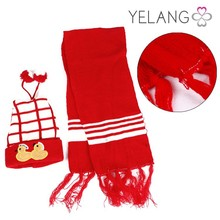 New Design Winter Children hats and scarf Suits,Girl Garment