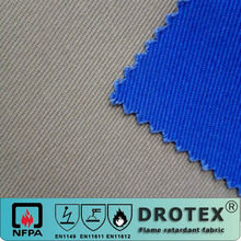 100% cotton washable twill fabric for workwear china wholesale fireproof material fabric