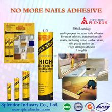 Super silicone glue/NO MORE NAILS glue for construction