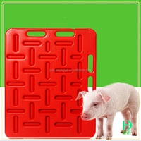 Hot Sale Pig Farm In India Flame Resistant Pig Block Panel Panel Heavy Duty Plastic Blocked Pig Board