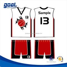 Full sublimation team discount basketball jersey uniform