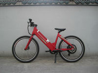 2015 New design 48v 250w 350w 500w battery operated hidden battery electric bicycle