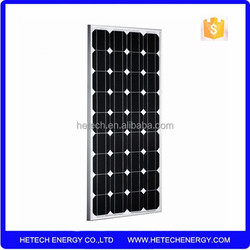 80w solar panel monocrystalline made in China