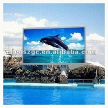 china hd full color led outdoor p10 outdoor gcl video