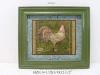 Rooster Framed Picture