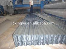 Zinc corrugado roofing chapa de acero galvanizado de onda azulejo para techos sistema
