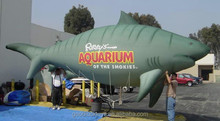 gaint inflatable 24 foot Tiger Shark for use in parade and for events for advertising