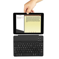 Alibaba ultra thin metal cover magnetic clip russian keyboard wireless bluetooth 3.0 for ipad air