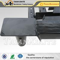 Fabricate CNC machining welding carbon steel umbrella stand base powder coated steel