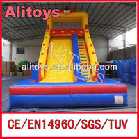 Alitoys best quality cheap inflatable slides for sale