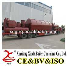 CE Aproved by Europe Standard Waste Tyre Pyrolysis Equipment for Crude Oil