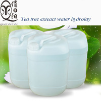 Tea tree plant extract lotion tea flower water hydrolat skin care repairing essence OEM