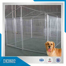 New Design Galvanized Outdoor Pet Cage Dog Kennel