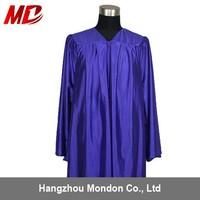 High School Graduation Uniforms Sample Shiny Purple