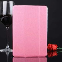 Three Folded For Apple ipad Air 2 Pu Leather Tablet Flip Stand Case