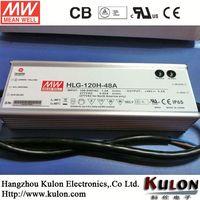 MEAN WELL 120W,12VDC LED driver TUV&CE/UL HLG-120-12 PFC