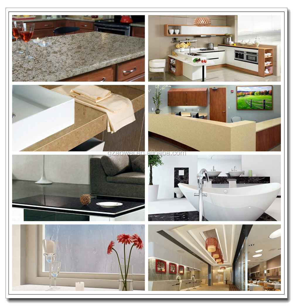 New Countertop Materials 2015 : Owell wholesale solid surface countertop material is widely used in ...
