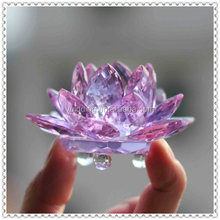 Beautiful Feng Shui Crystal Lotus Flower