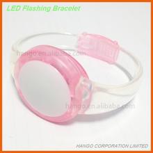 RoHS Approved Party Favor Women LED Light Up Bracelet Watch