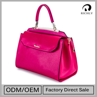 Top Class Customized Oem Handbags Genuine Leather