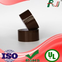 Adhesive brown bopp tape for packing with company printed