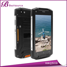 waterproof 5.0'' Quad Core IPS 4G LTE NFC smart rugged phone