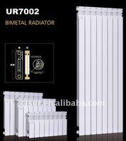CE Certificated 600CC Stylish Bimetal Hydronic Heat Radiator UR7002-600
