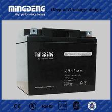 Hot sale good quality solar ups backup 12v gel battery 12v 38ah agm lead acid deep cycle battery