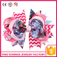 Stock Factory directly Frozen princess hair clips
