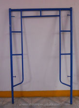 scaffolding painted frame for construction