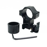 "1"" 25.4/30mm High Ring 20mm Weaver Rail QD Quick Release Scope Mount KC04"
