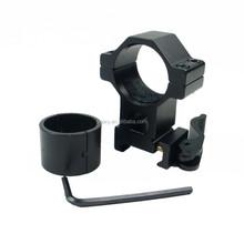 "1"" 25.4/30mm High Ring 20mm Weaver Rail QD Quick Release Scope Mount KC04"
