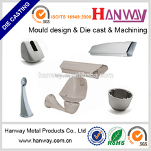 China OEM manufacturer precision CNC machining aluminum die casting for automobile parts