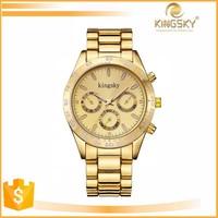2015 kingsky 120014# fashion vogue guangzhou watch market for lady