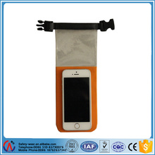 Fashion clear window dry bag for mobile phone and camera