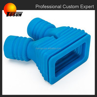 Dustproof molded silicone rubber bellows