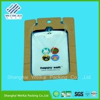 fashion plastic card holder, clear plastic card case, transparent case
