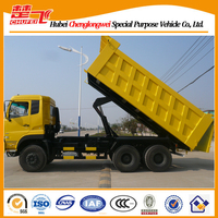 Dump truck curb weights Dongfeng 6x4 tipper truck 340hp